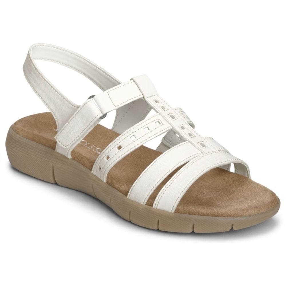 AEROSOLES Women's Wipple Threat Sandals - WHITE