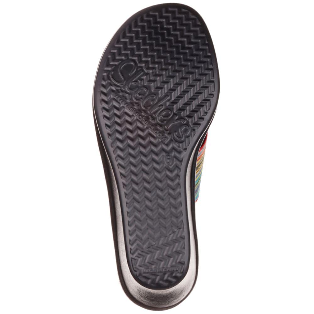 SKECHERS Women's Rumblers – Gore-Geous Wedge Sandals - MULTI