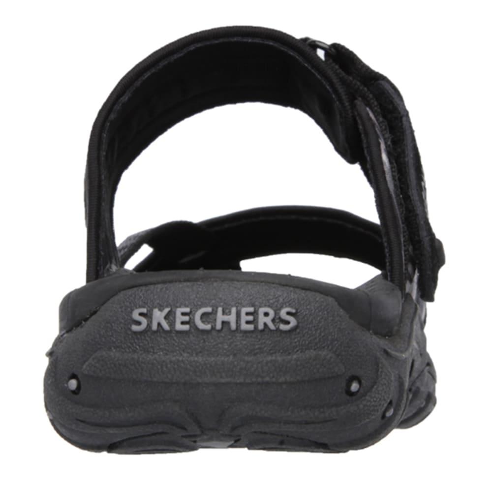 SKECHERS Women's Reggae- Brush Strokes Sandals - BLACK/GREY
