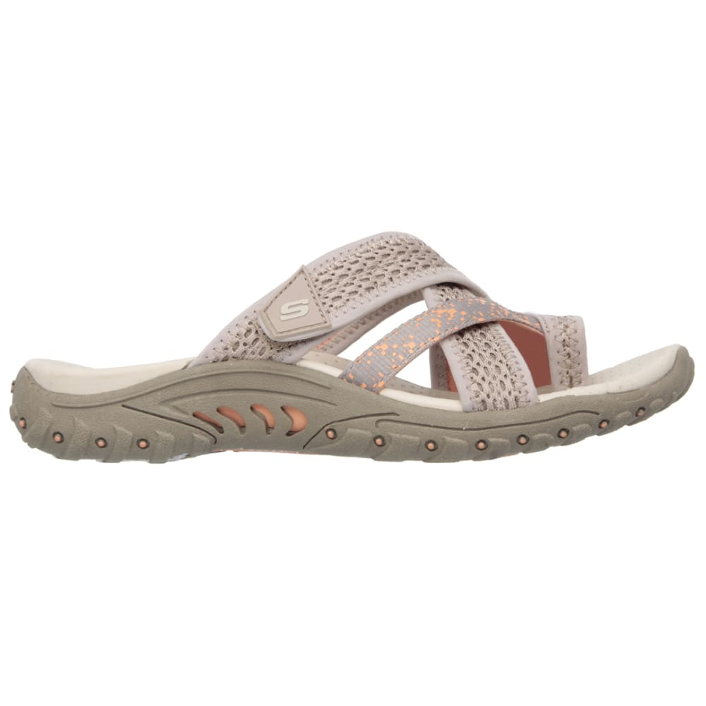 SKECHERS Women's Reggae- Splatter Sandals - TAUPE