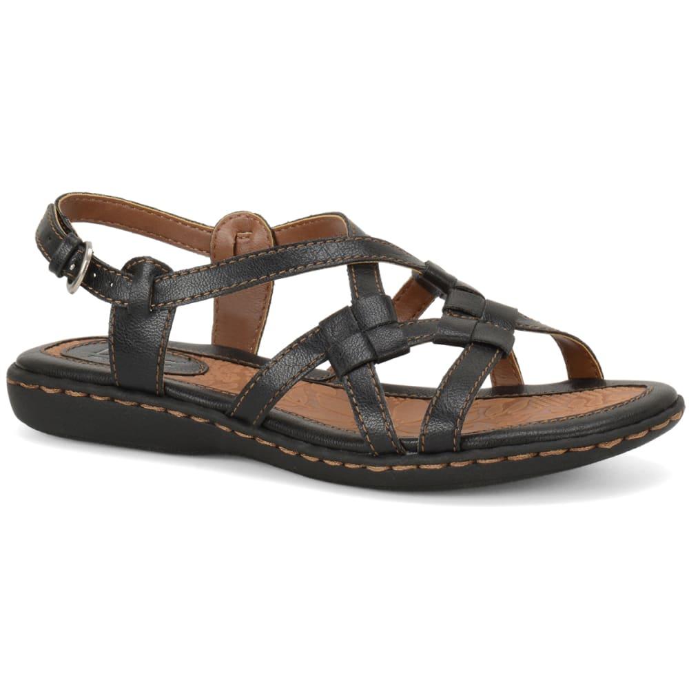 B.O.C. Women's Kesia Sandals - BLOWOUT - BLACK WIDE