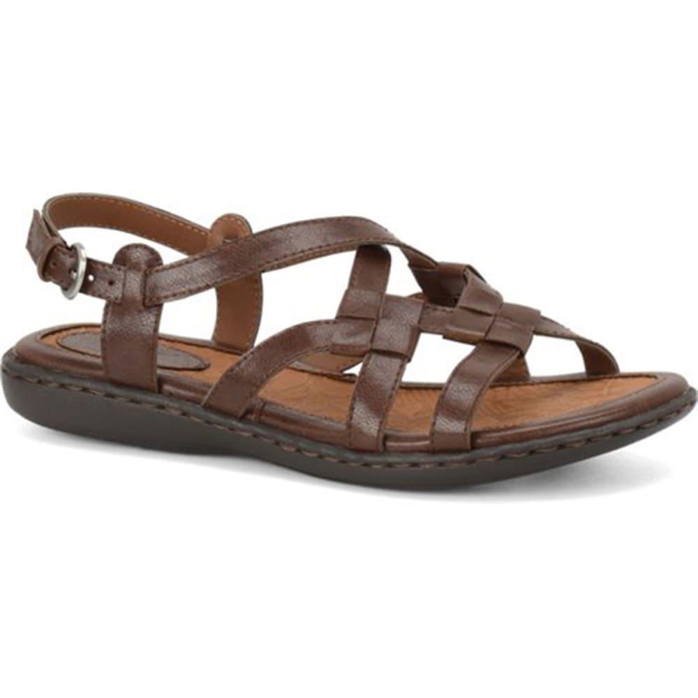 B.O.C. Women's Kesia Sandals - BLOWOUT - BROWN WIDE
