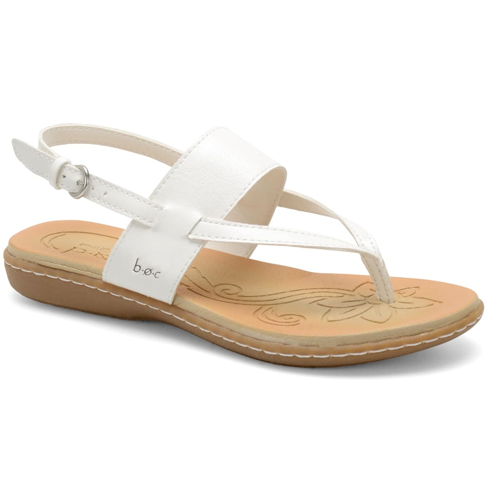 B.O.C. Women's Sharin Sandals - WHITE/PERIWINKLE