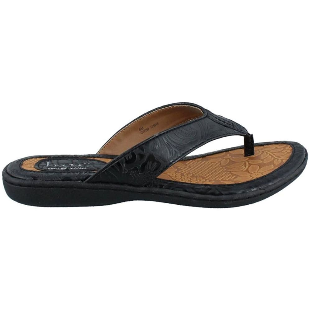 B.O.C. Women's Zita Thong Sandals - BLOWOUT - BLACK C47299