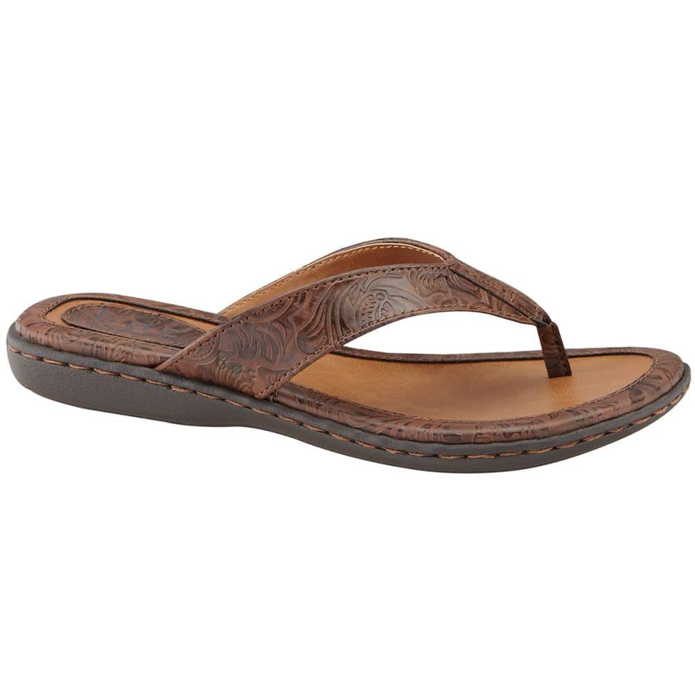 B.O.C. Women's Zita Thong Sandals - BLOWOUT - COFFEE C47241
