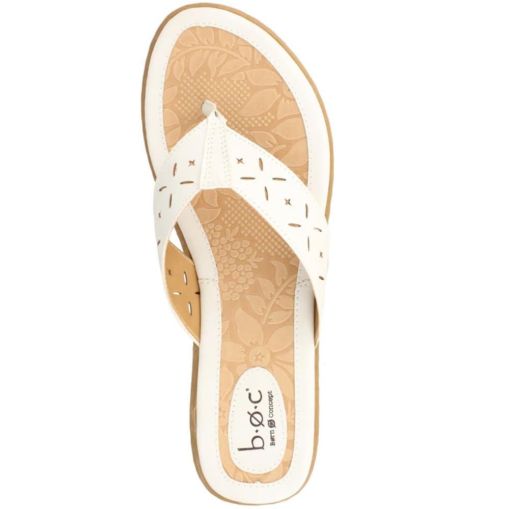 B.O.C. Women's Hindy Thong Sandals - BLOWOUT - CHALK
