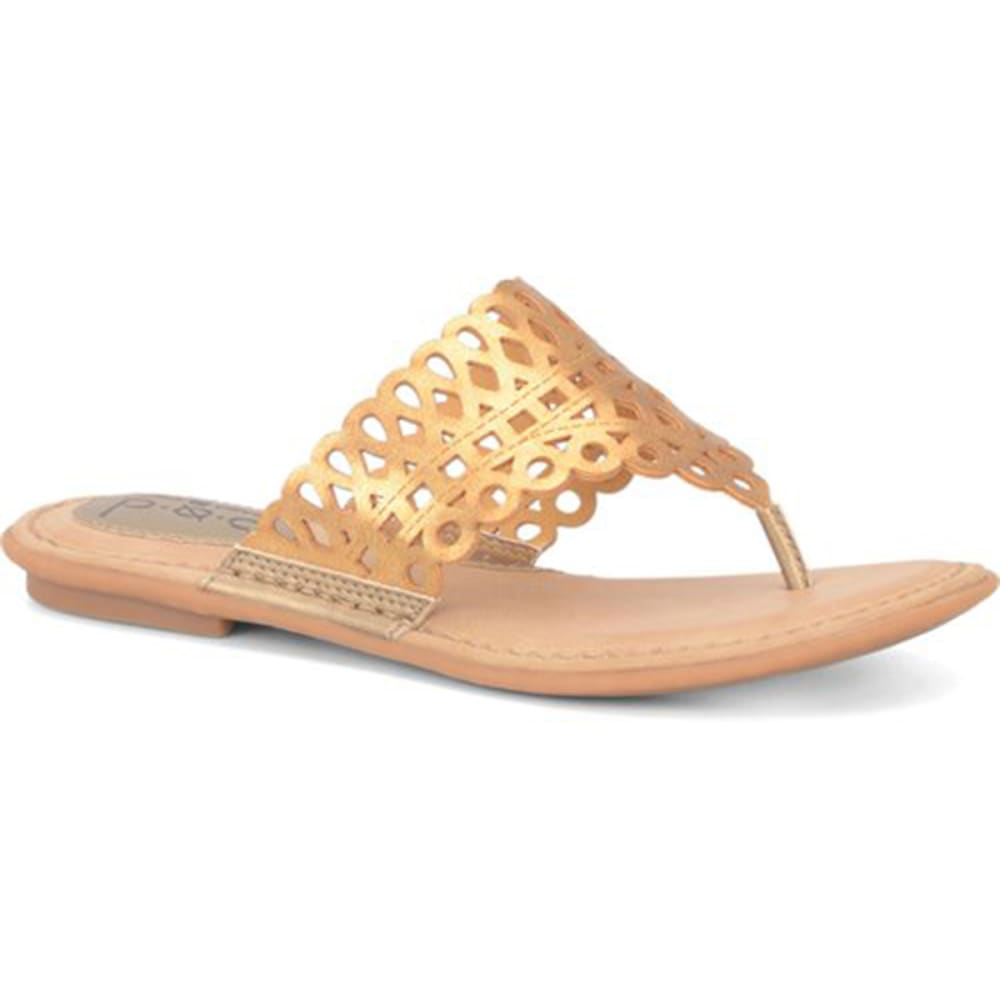 B.O.C. Women's Caree Thong Sandals - BLOWOUT - CHAMPAGNE
