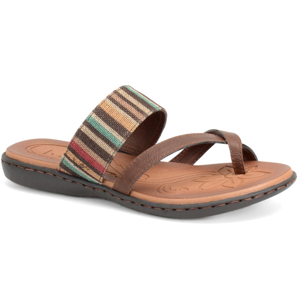 B.O.C. Women's Gould Stripe Sandals - CHOCOLATE MARBLE