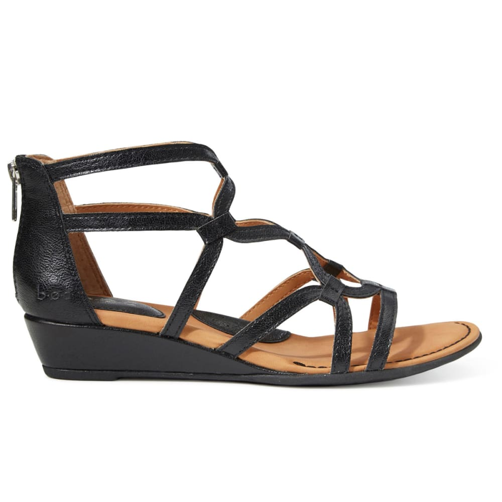 B.O.C. Women's Pawel Demi Wedge Sandals - BLACK