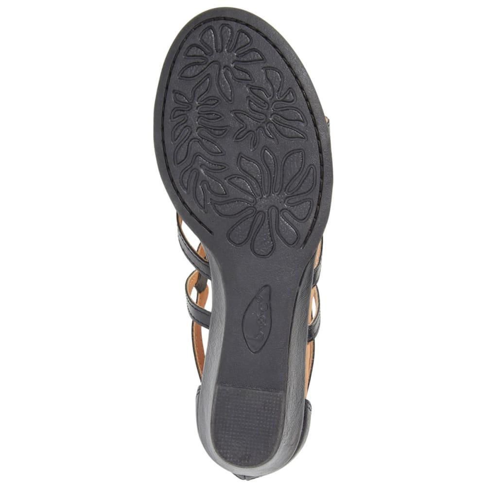 B.O.C. Women's Pawel Demi Wedge Sandals - BLACK