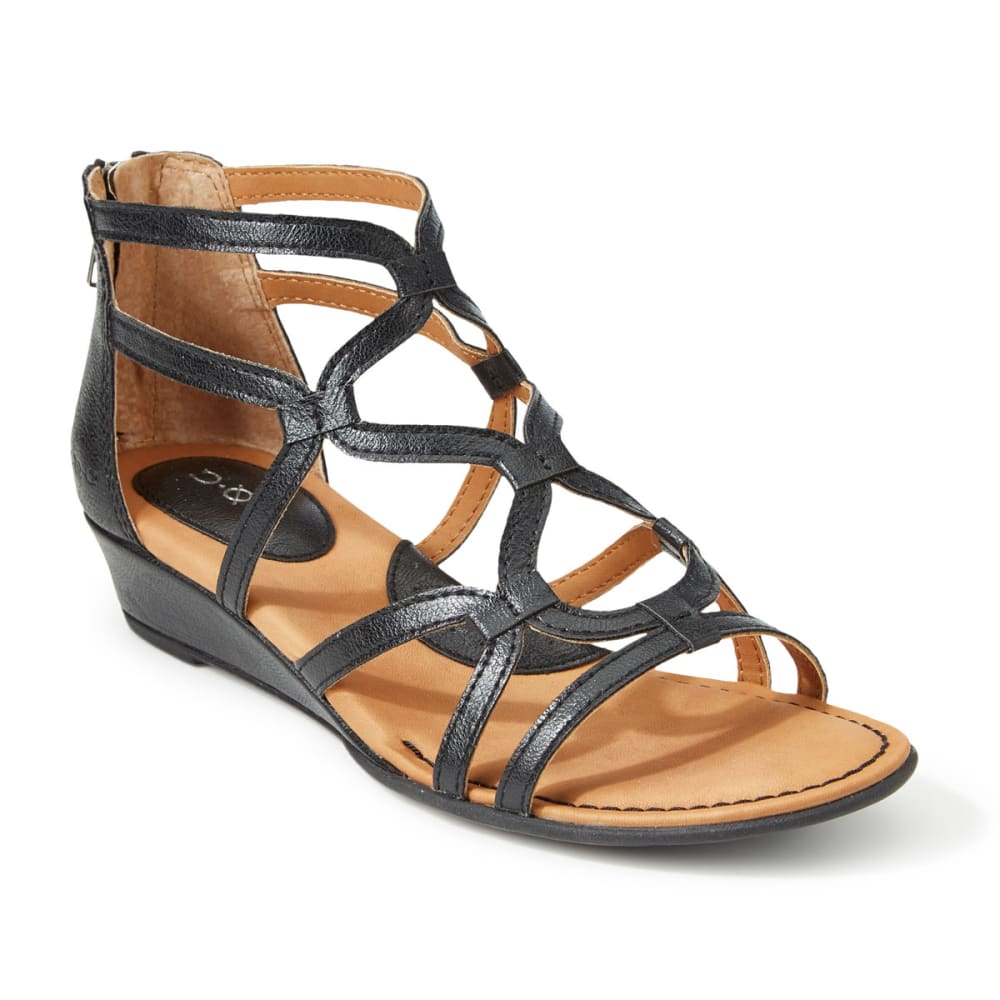 B.o.c. Women's Pawel Demi Wedge Sandals - Black, 6