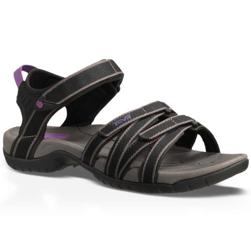 TEVA Women's Tirra Sandals, Black - BLACK