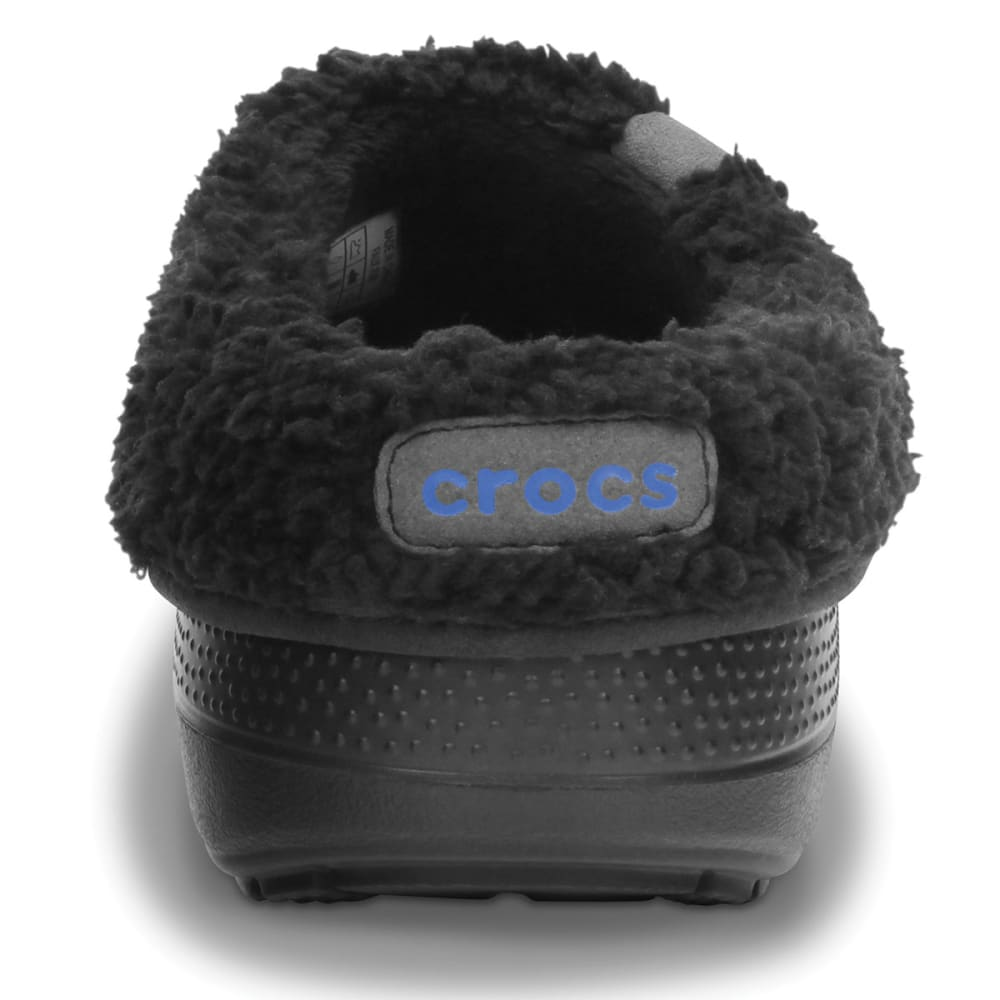 CROCS Women's Blitzen II Fuzz Lined Clog - BLACK