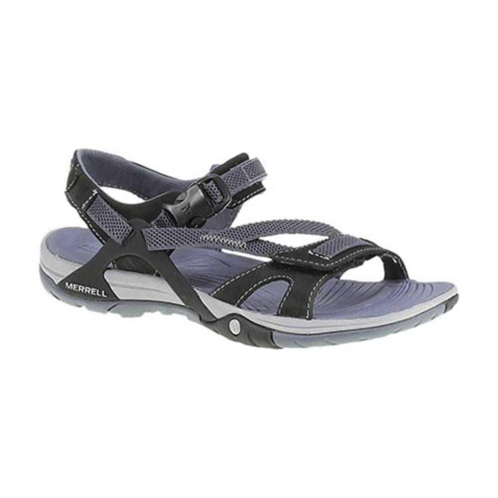 MERRELL Women's Azura Wrap Sandals - BLACK