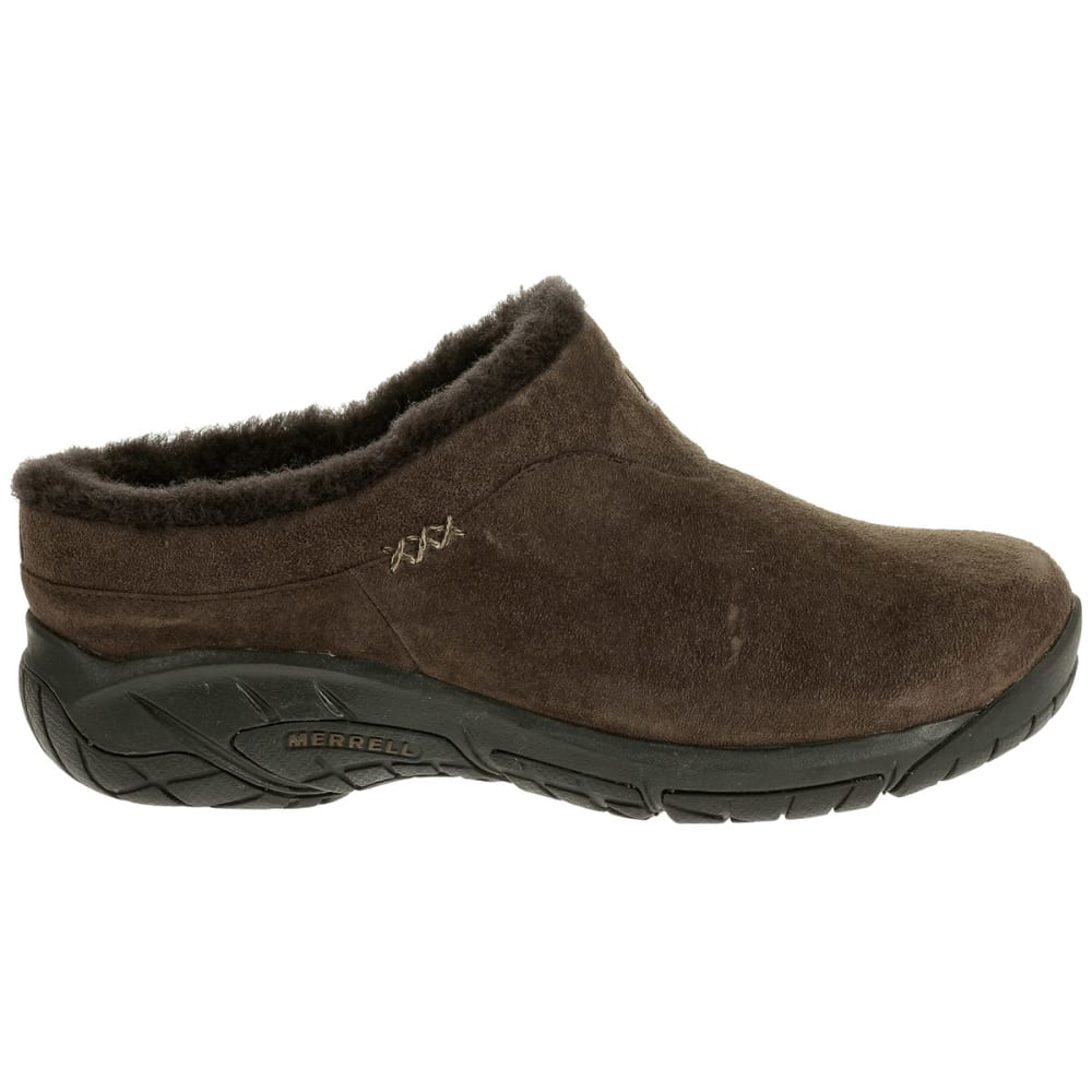 MERRELL Women's Encore Ice Slip-On Shoes - CHOCOLATE