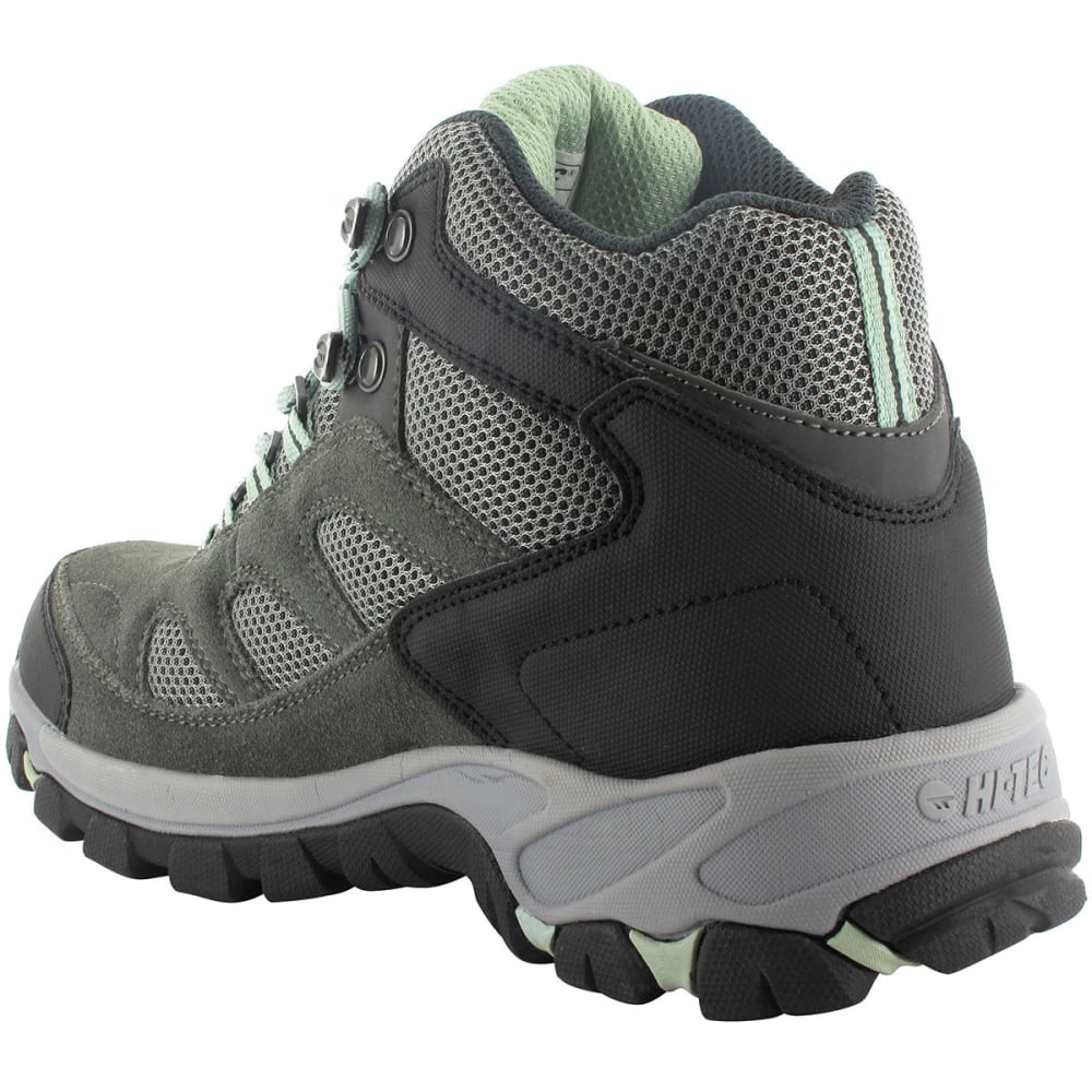 HI-TEC Women's Logan Mid Waterproof Hiking Boots - CHARCOAL