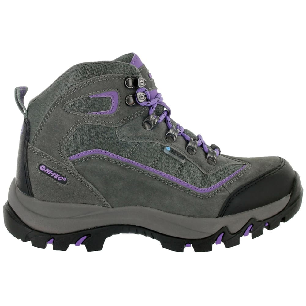 HI-TEC Women's Skamania Mid Waterproof Hiking Boots - GREY
