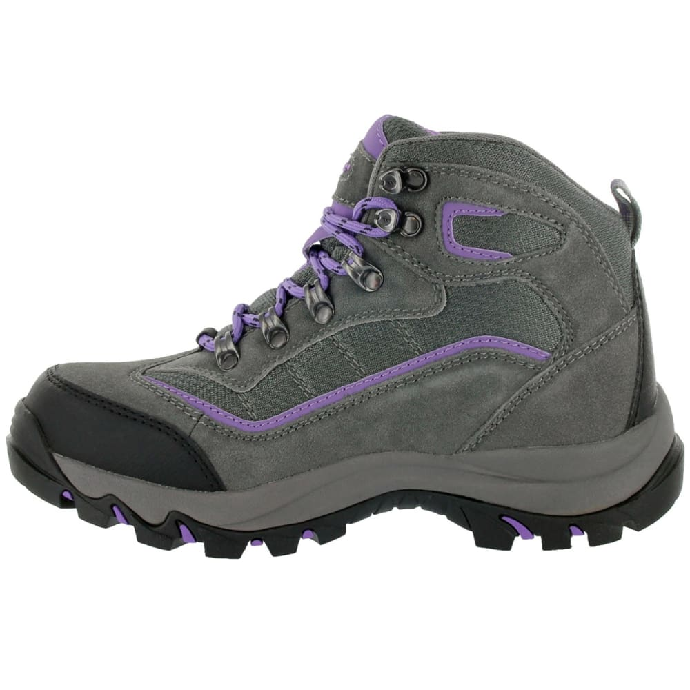 HI-TEC Women's Skamania Mid Waterproof Hiking Boots - GREY