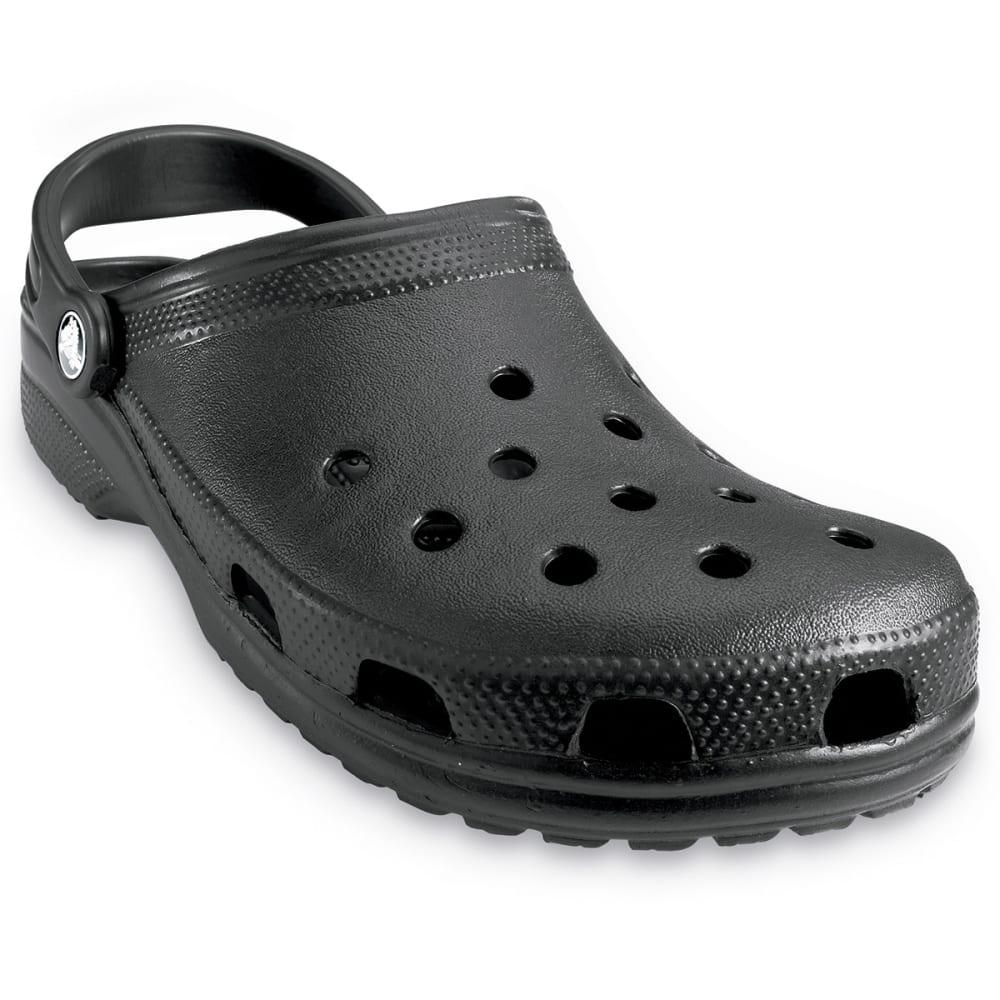 Crocs Adult Classic Clogs - Black, 10