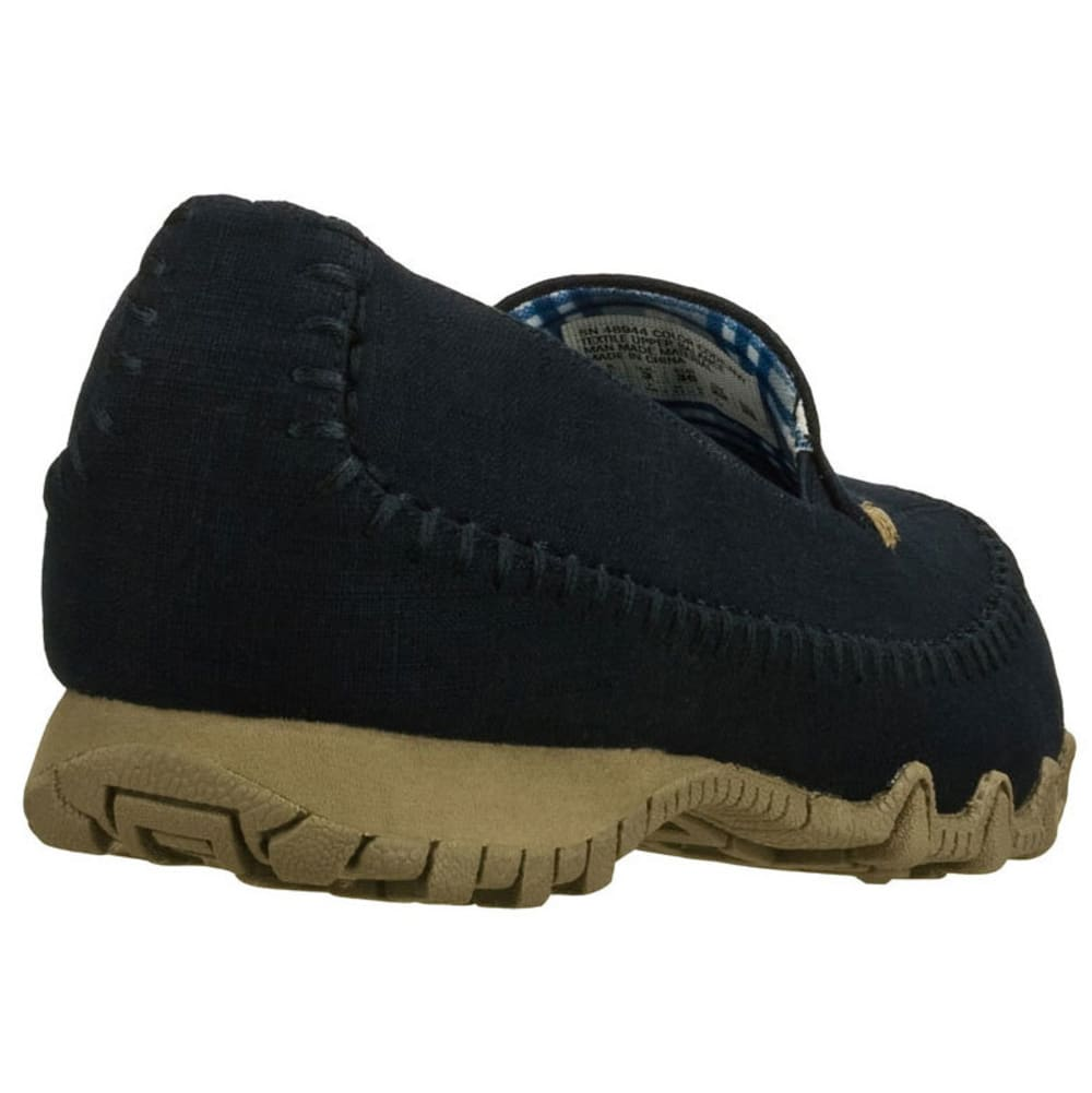 SKECHERS Women's Relaxed-Fit Biker Shoes - DARK NAVY
