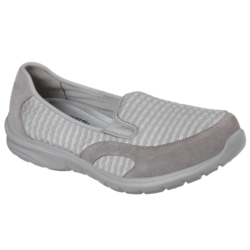 SKECHERS Women's Relaxed-Fit Living Slip-Ons - GREY