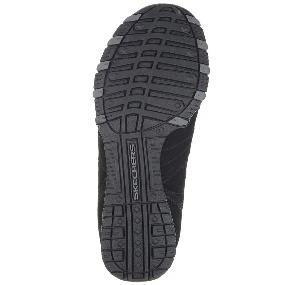 SKECHERS Women's Relaxed Fit Bikers Walking Shoes - BLACK