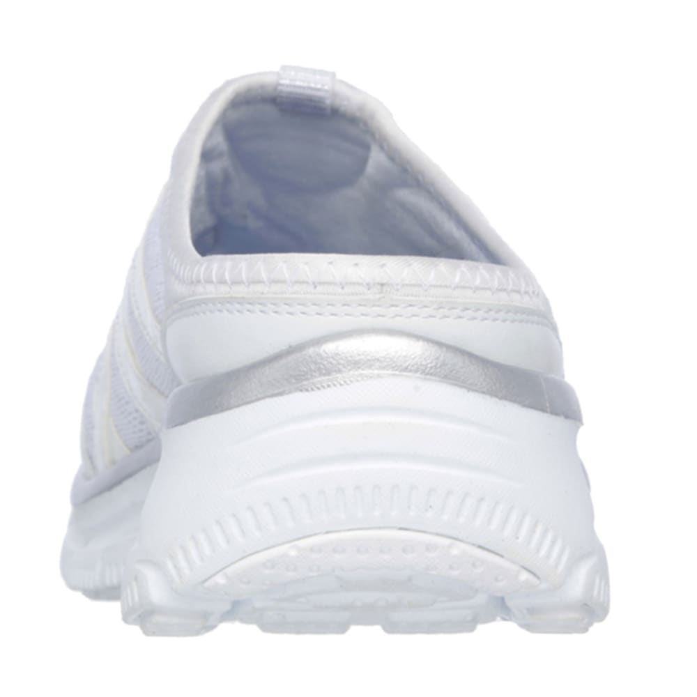 SKECHERS Women's Relaxed Fit: Easy Going – Repute Shoes - WHT/SKY BLUE- WSL