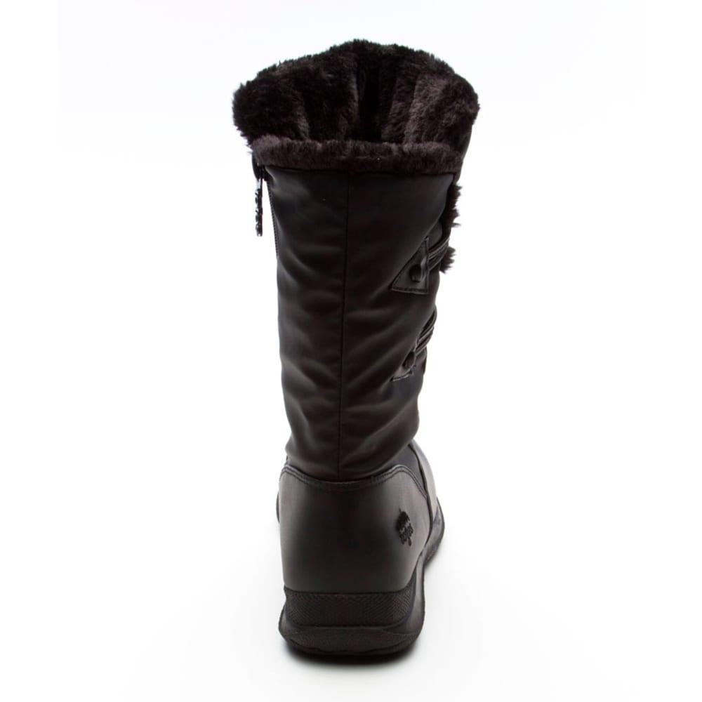 TOTES Women's Jennifer Side Zip Boots - BLACK