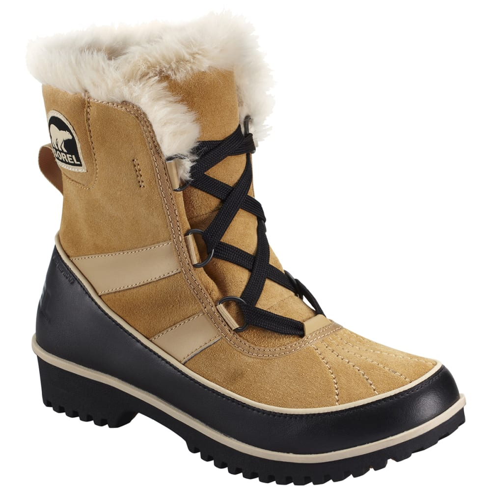 SOREL Women's Tivoli II Winter Boots - CURRY
