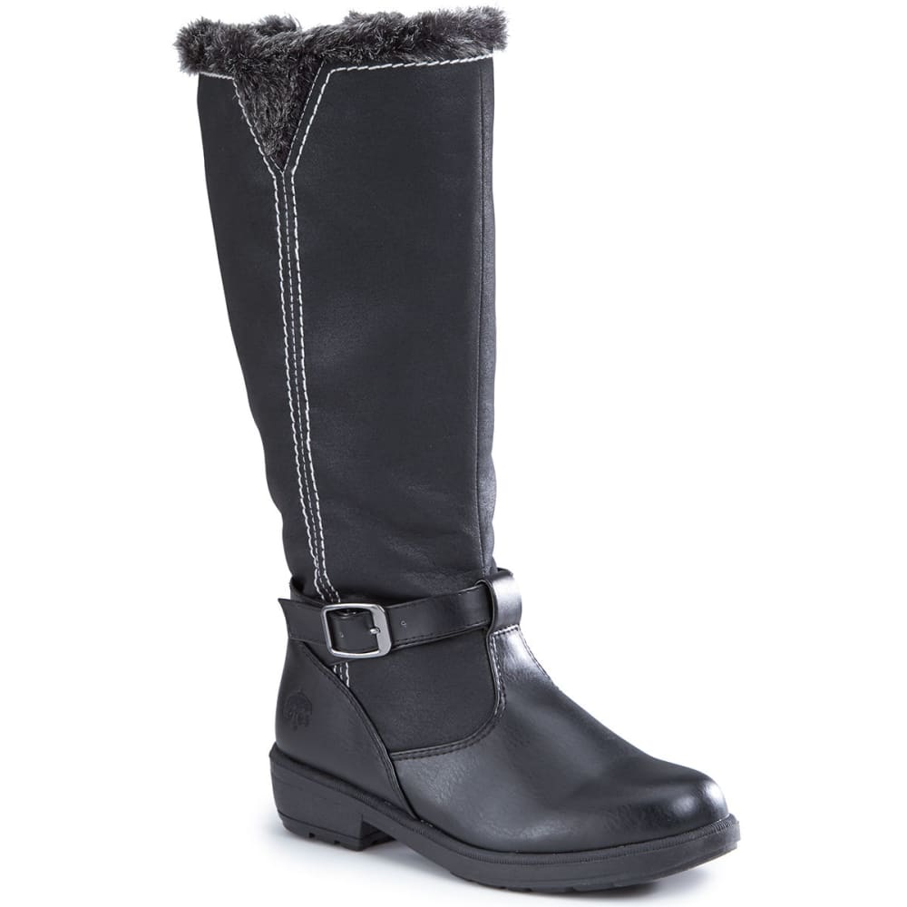 TOTES Women's Maryliza Waterproof Riding Boots - BLACK