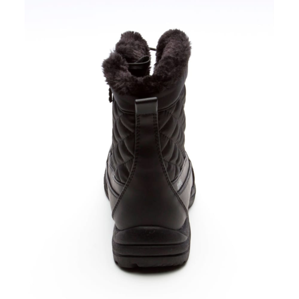 TOTES Women's Toby Short Quilted Bungee Boots - BLACK