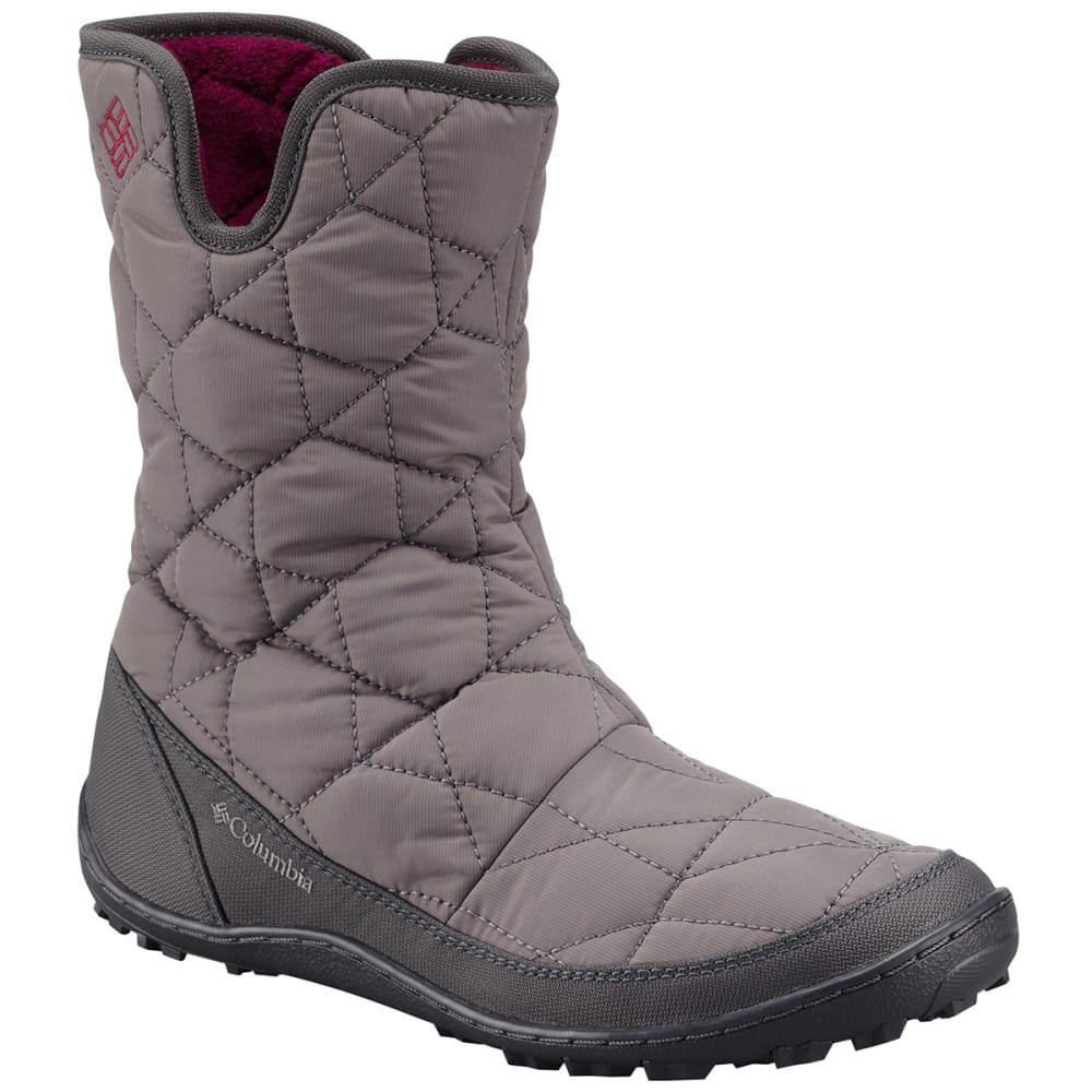 COLUMBIA SPORTSWEAR Women's Minx™ Slip II Omni-Heat™ Boots - SHALE/RASPBERRY