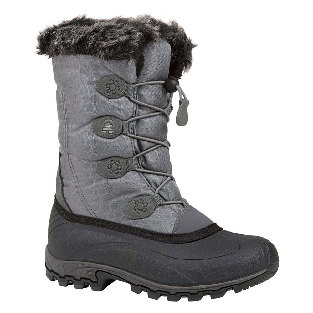 KAMIK Women's Momentum Snow Boots - CHARCOAL