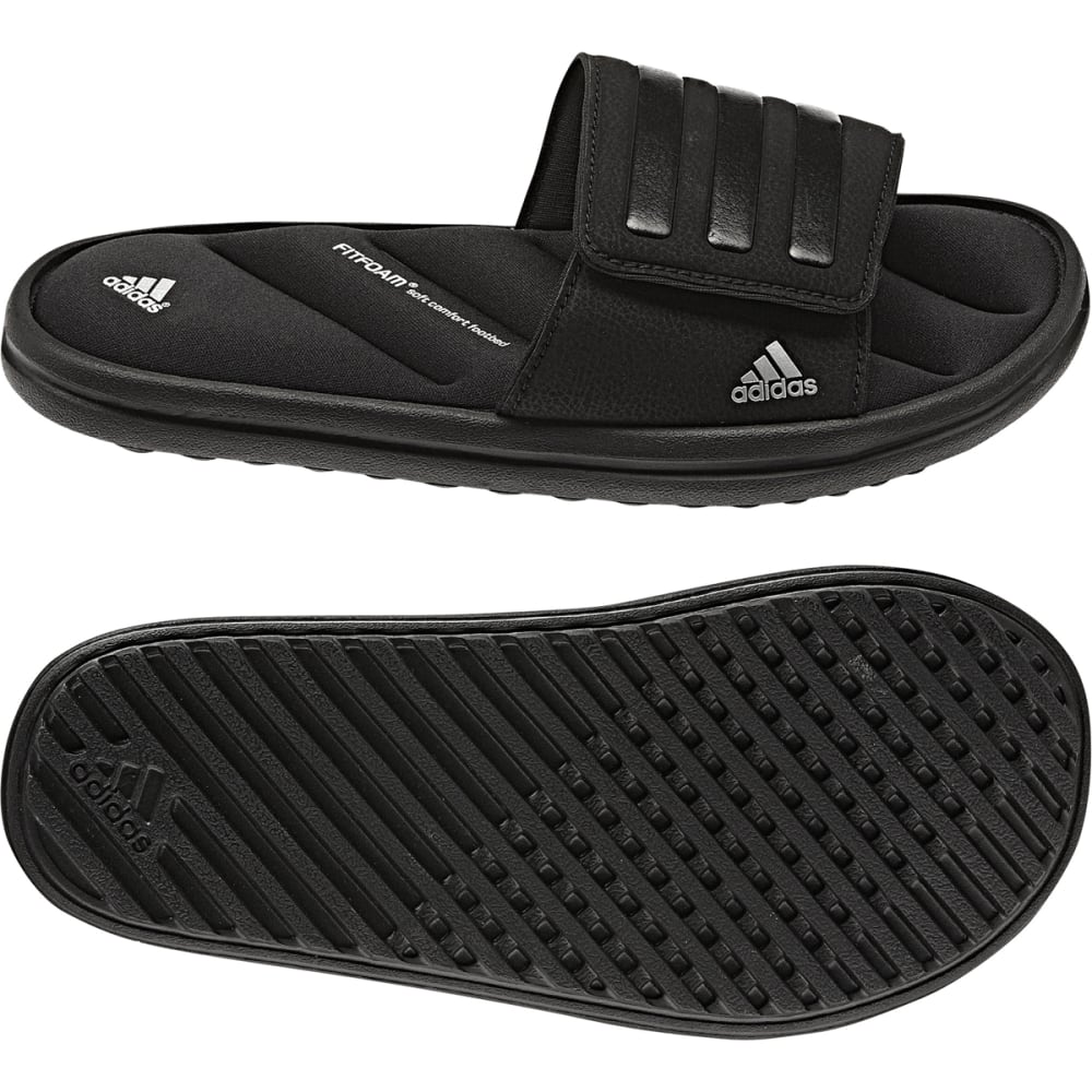 ADIDAS Boys' Zeitfrei Slide Sandals - BLACK