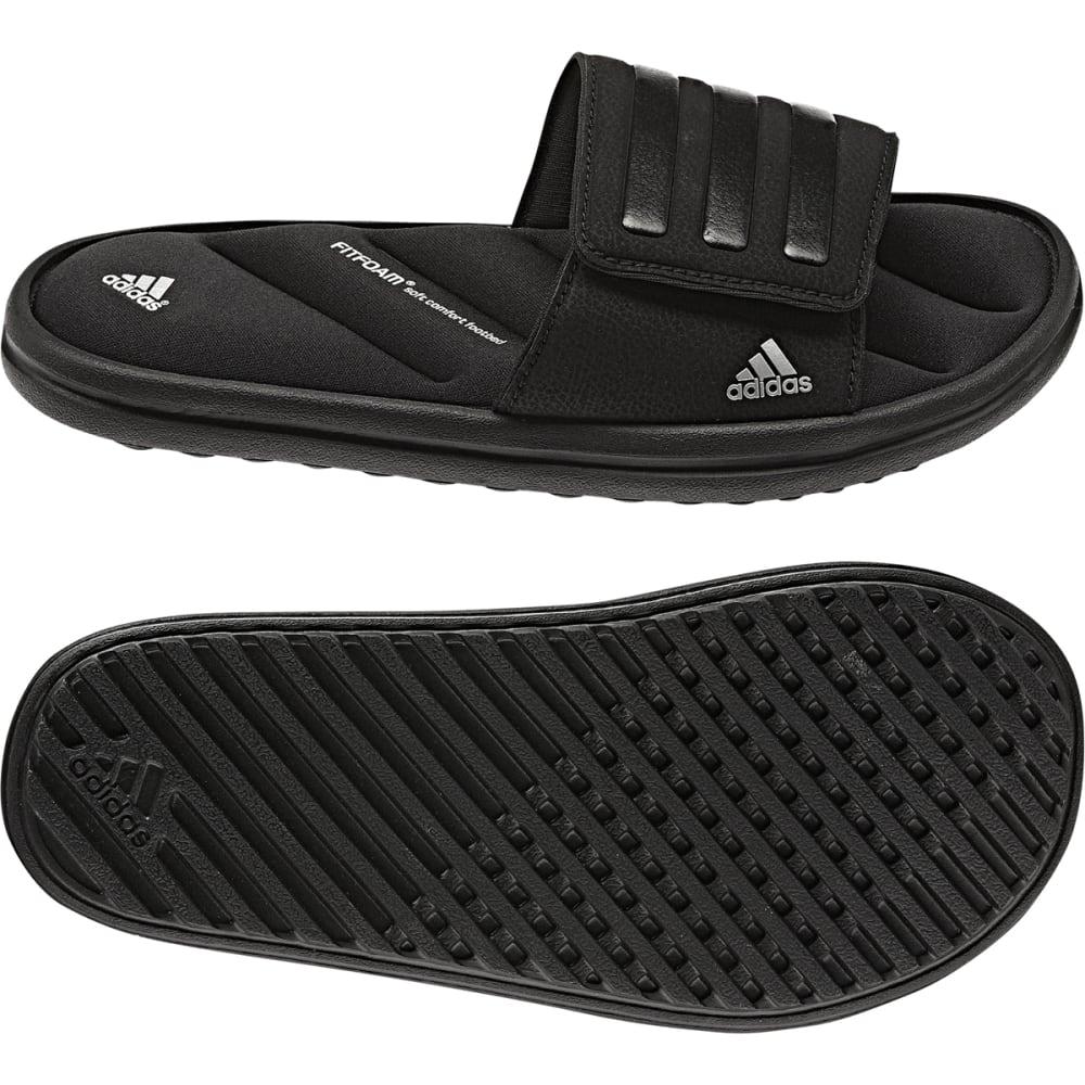 ADIDAS Boys' Zeitfrei Slide Sandals - BLACK