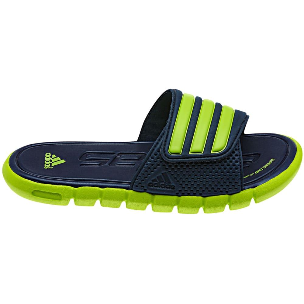 ADIDAS Boys' Adilight SUPERCLOUD Sandals - NAVY/SLIME