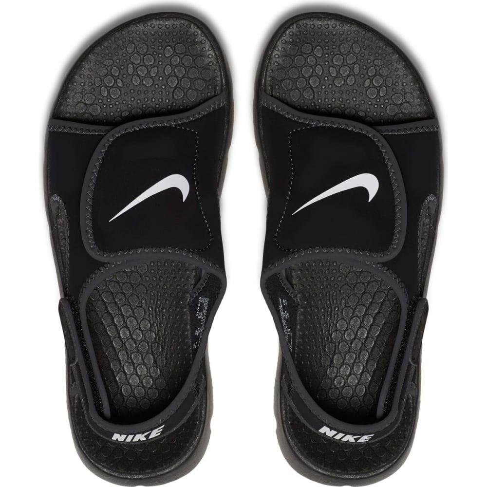 NIKE Boys' Sunray Adjust 4 Sandals - BLACK