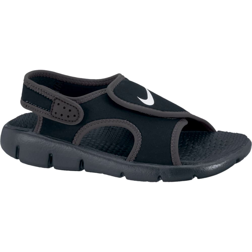 NIKE Boys' Sunray Adjust 4 Sandals - BLACK