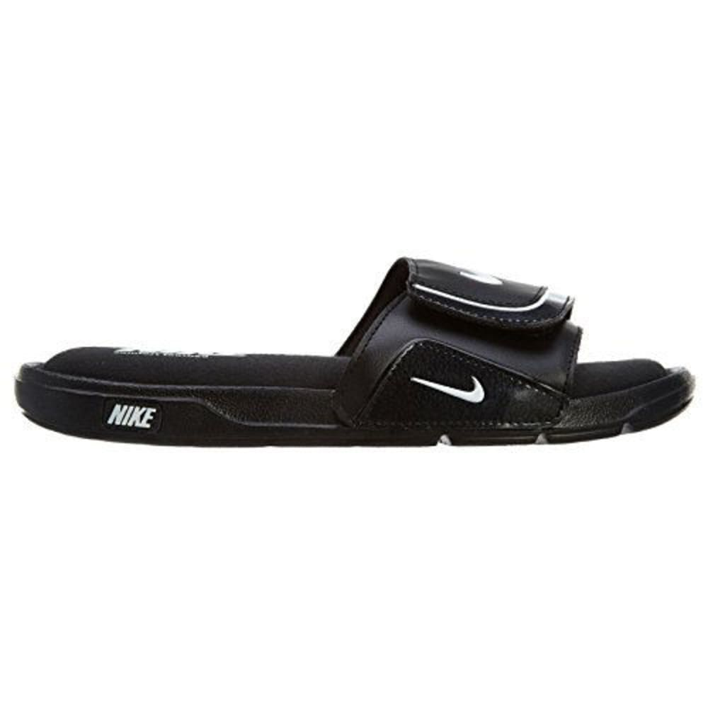 NIKE Boys' Comfort Slide Sandals - BLACK