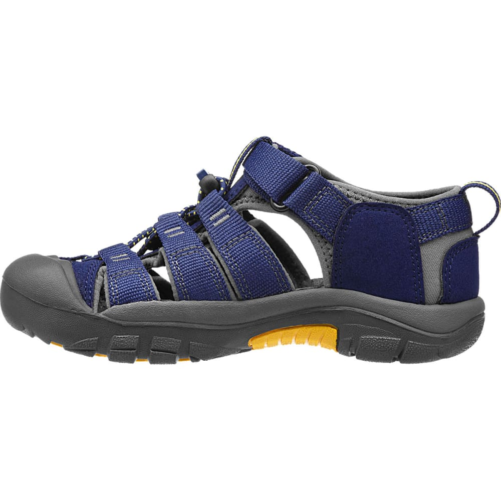 KEEN Toddler Newport H2 Sandals, Blue/Gargoyle - BLUE DEPTH
