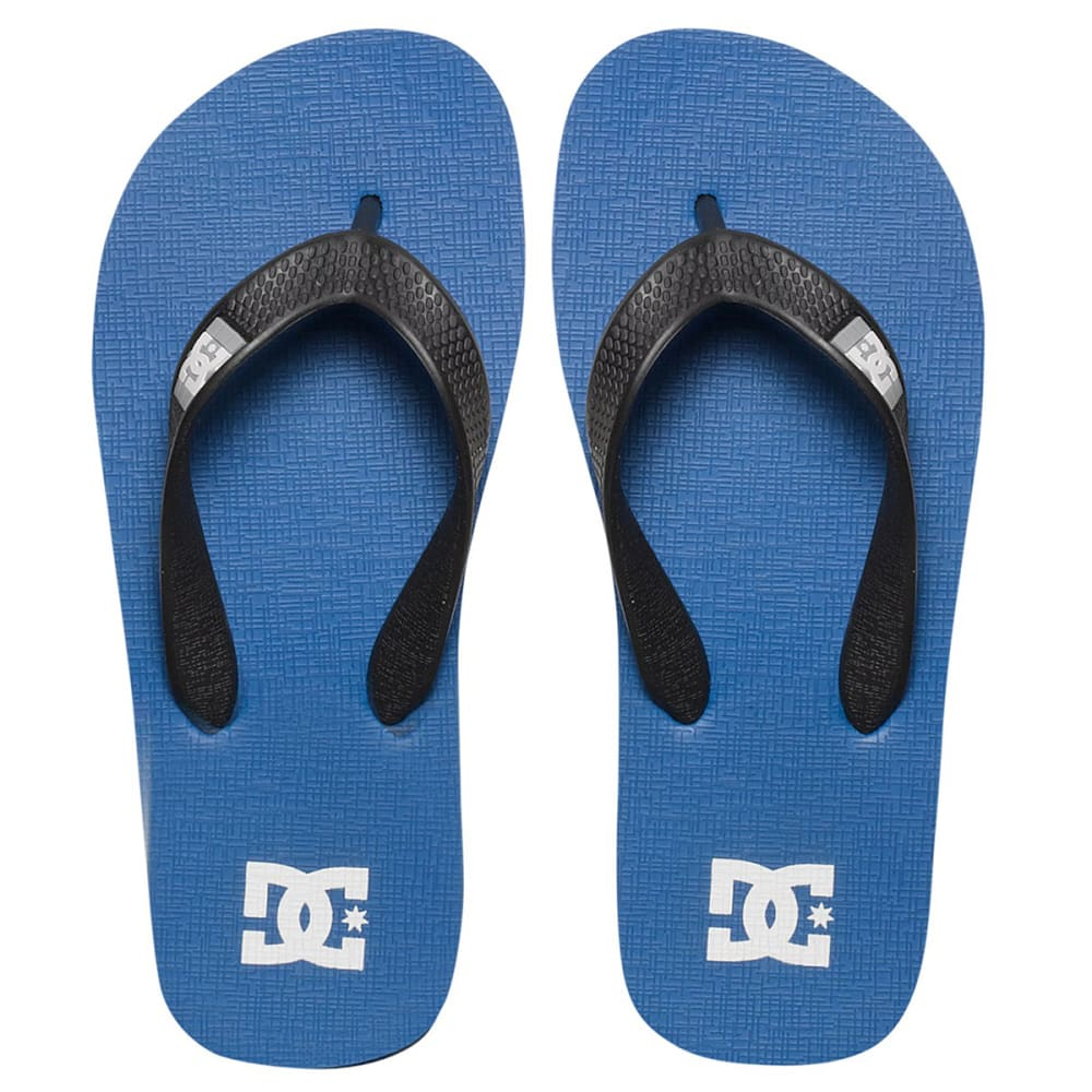 DC Boys' Spray Sandals - ROYAL BLUE/BLACK
