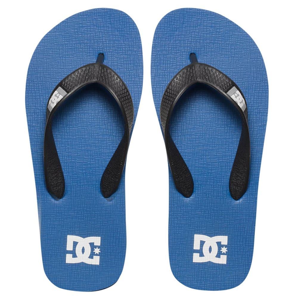 DC Boys' Spray Sandals - ROYAL BLUE/BLACK