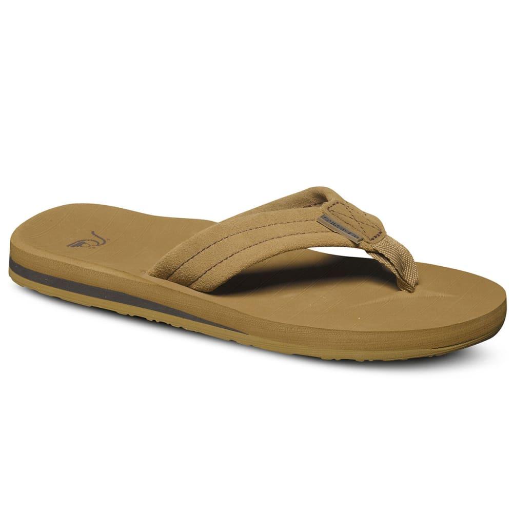 QUIKSILVER Boys™ Carver Suede Sandals - TAN