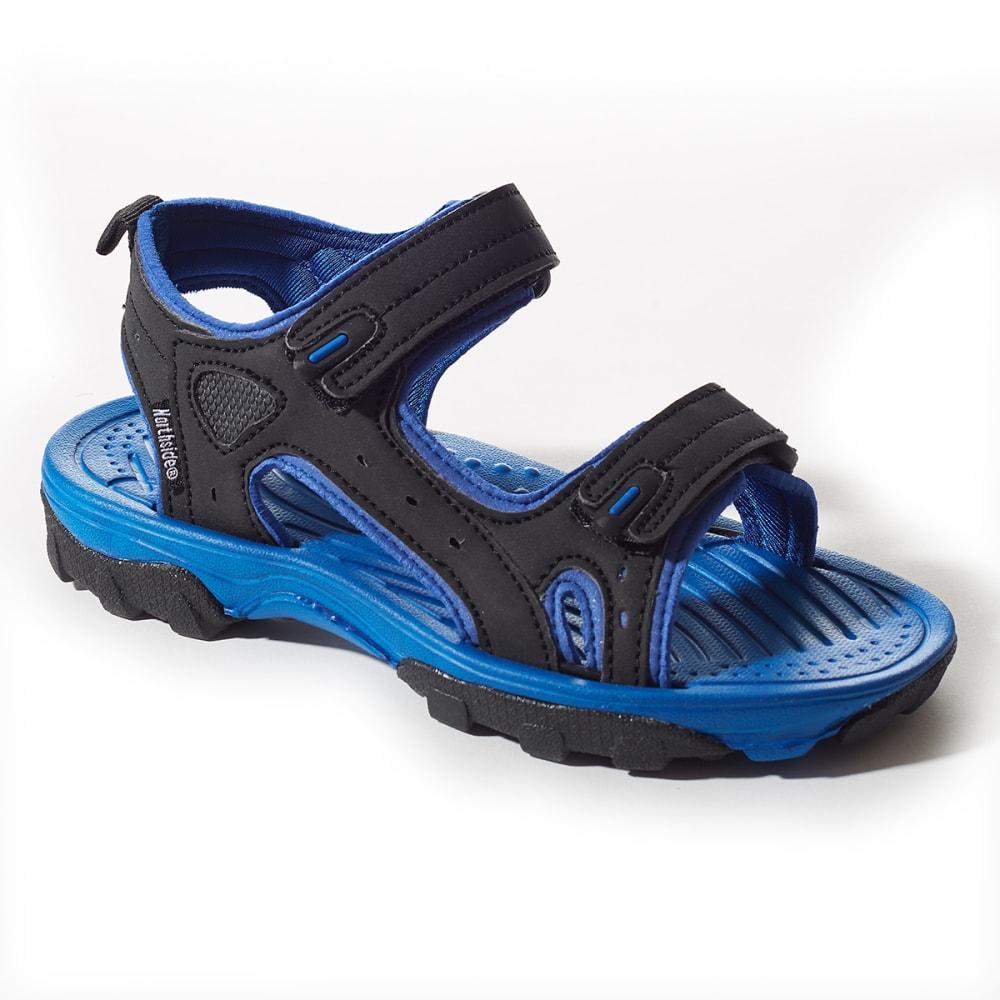 NORTHSIDE Boys' Riverside II Sandals - BLACK/BLUE
