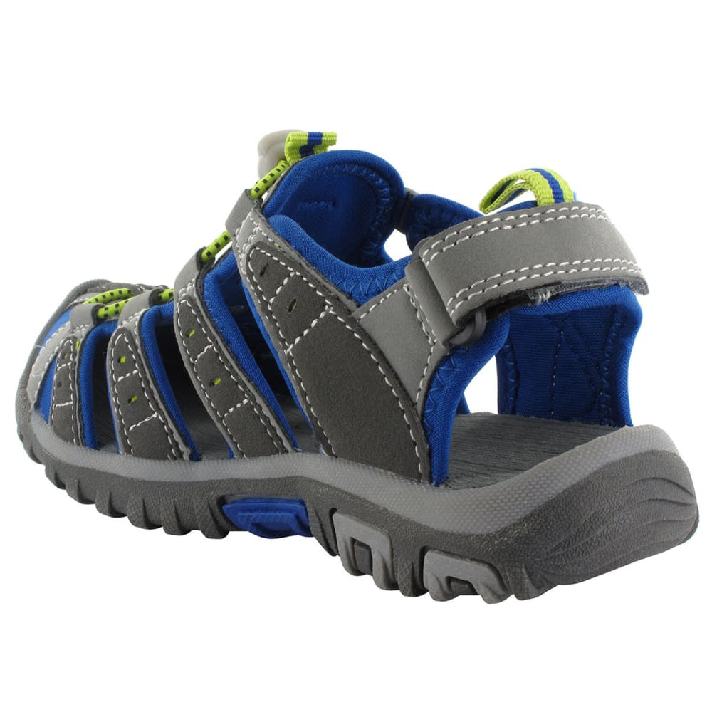 HI-TEC Boys' Shore Junior Sandals - CHARCOAL/ROYAL
