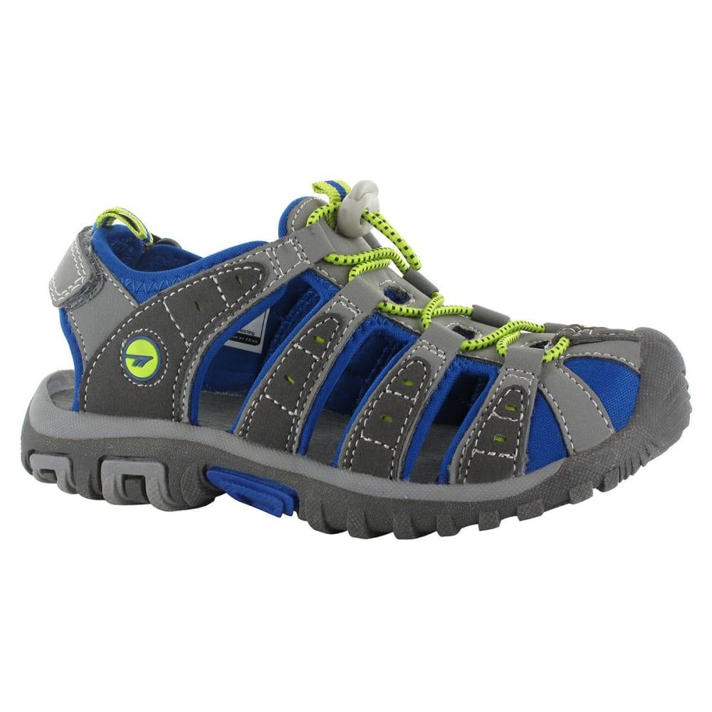HI-TEC Boys' Shore Junior Sandals - CHARCOAL/ROYAL