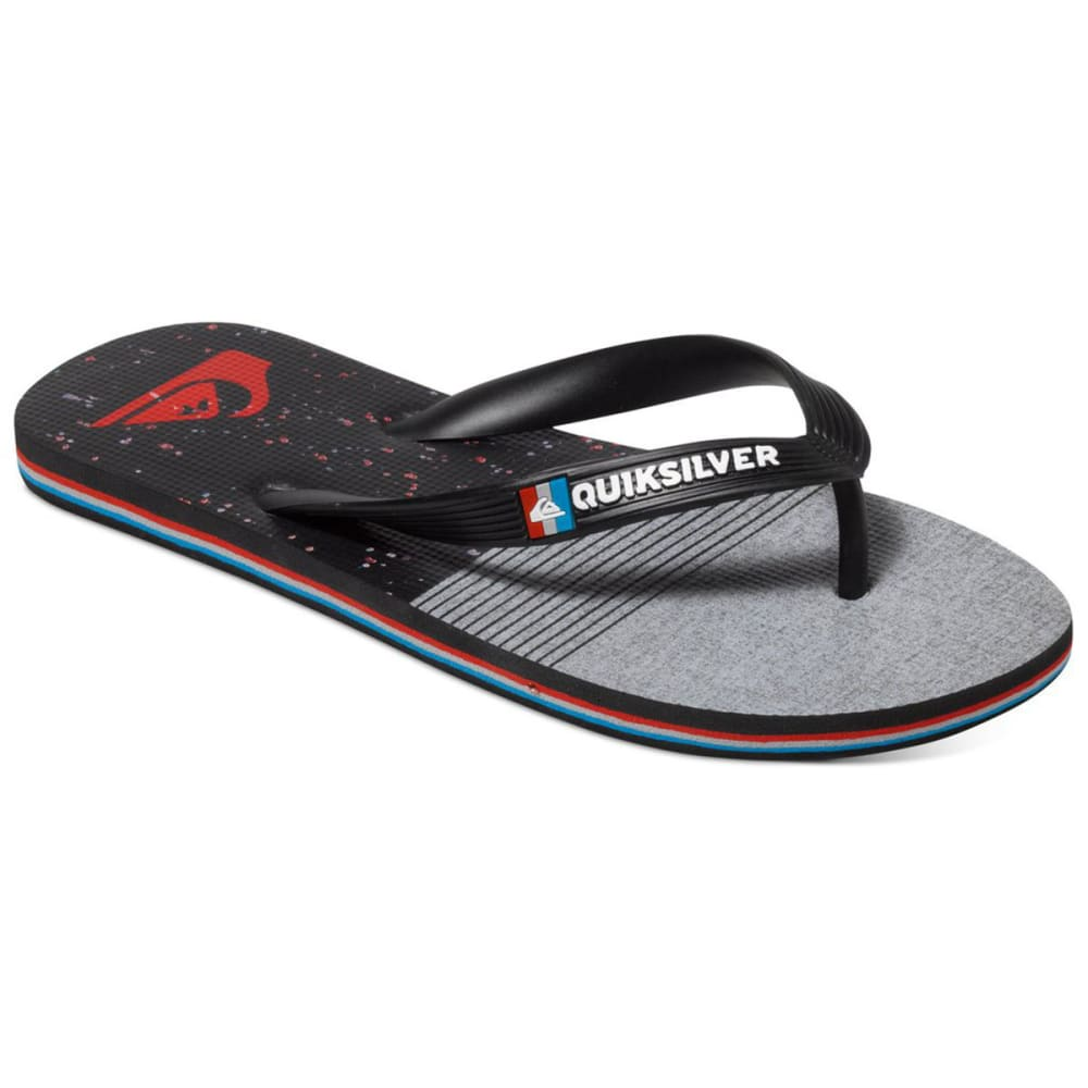 QUIKSILVER Boys' Molokai AG47 Remix Sandals - BLACK