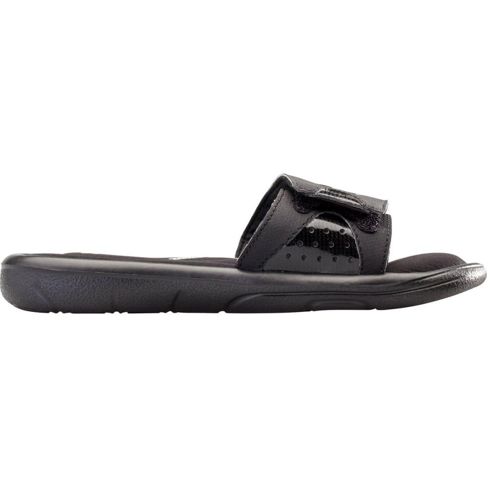 UNDER ARMOUR Boys' Ignite Slide Sandals - BLACK