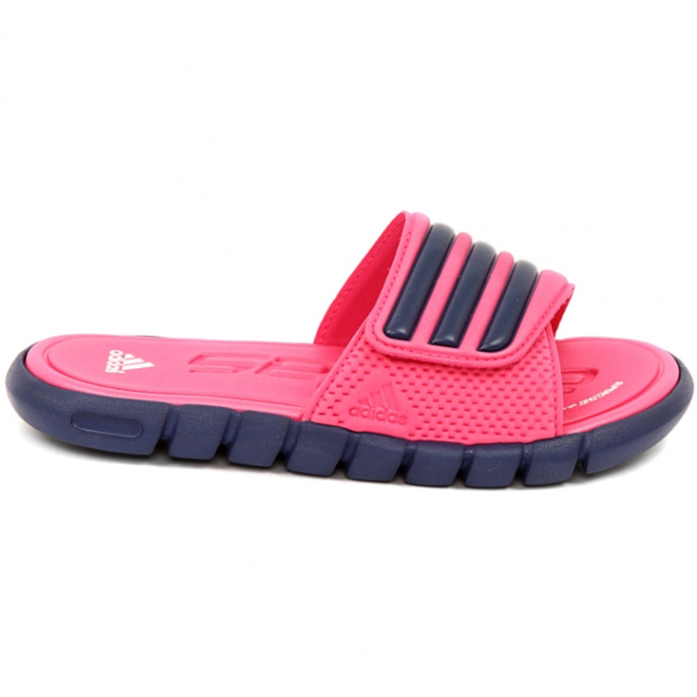ADIDAS Girls' Adilight Slide Sandals - PINK/PURPLE