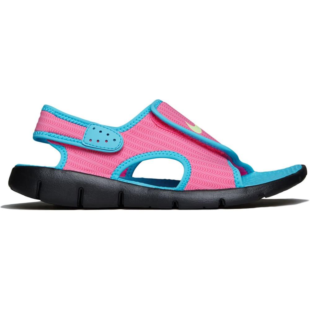 NIKE Girls' Sunray Adjust 4 Sandals - KNOCKOUT PINK